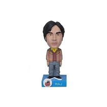 Boneco Raj The Big Bang Theory W Wobbler Bobble Head Funko