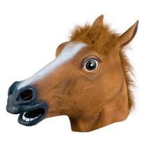 Máscara De Cavalo Em Látex Horse Mask Luxo - Harlem Shake