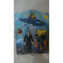 Boneco Seaquest Capitan Nathan Hale - Raridade Edição 1993