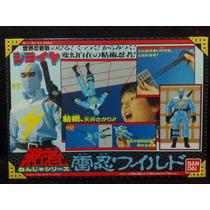 Ninja Jiraya - Jiraya - Ninja Azul - Ban Dai - Raro!