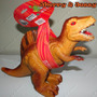 Dinossauro Borracha Vinil Dinomania Com Sons