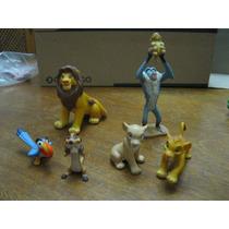 O Rei Leão 6 Miniaturas Disney Para Colecionador Lindas