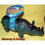 Rinoceronte Borracha Vinil Com Sons De Rinoceronte