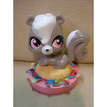 Brinquedo Coleção Littlest Pet Shop Gambá Mc Donald