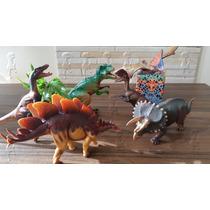 Coleção De 6 Dinossauros Pequenos! Jurassic Park World !