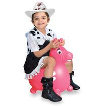 Brinquedo Infantil Cavalinho Upa Upa Do Gugu Rosa - Líder
