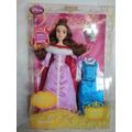 Bela Princesa Disney Canta + Vestido + M. Samovar