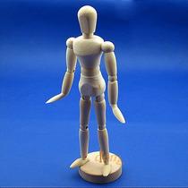 Boneco Articulado Manequim 14cm
