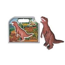 Boneco Dinossauro Tiranossauro Rex Pequeno - Rotobrinq