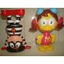 2 Bonecos Da Turma Do Ronald Da Coleção Mc Donalds 2005.