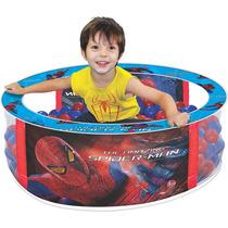 Piscina De Bolinhas Spider Man - Infantil Homem Aranha Líder