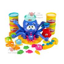Play Doh Magic Octopus, Polvo Divertido + 4 Massinhas Bônus
