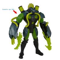 Boneco Max Steel Toxzon Garras Tóxicas Df - Mattel - 4babies