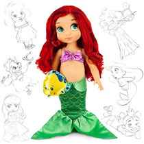 Ariel Animators 2014 Disney 40 Cm Original No Br Na Cx