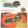Acessório Miniatura P90 Furuta P/ Hot Toys Eptoys - 1/6