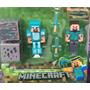 2 Bonecos Minecraft + Cubos + Intens Promoção Crianças!!