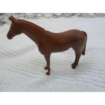 Cavalinho De Plástico Cor Marron