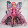 Boneca Barbie Fada Princesa Da Primavera