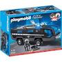 Playmobil 5181 City Action Conj.3 Policiais De Elite. - Brin