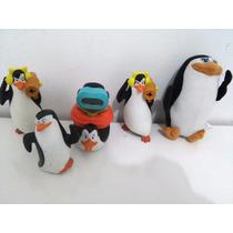 Coleção Pinguins Madagascar Mc Donalds 5 Peças