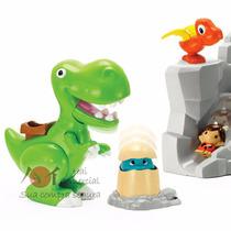 Brinquedos Conjunto Infantil Dinossauros Miniaturas- Keenway