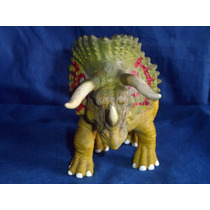 Boneco Dinossauro Tricerátopo Triceratops Usado De Borracha