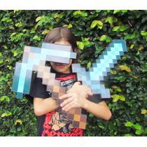 Espada Ou Picareta Minecraft - Sedex Apartir De R$6,50