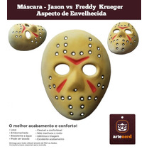 Máscara Jason Vs Freddy Krueger - Aspecto Original Ao Filme