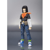 Boneco Dragon Ball Z Android 17 S.h Pronta Entrega
