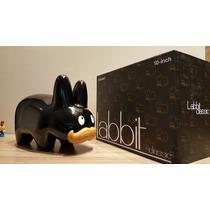 Toy Art Labbit Glossy Preto 10 Inch Kidrobot Frank Kozik