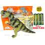 Dinossauro Eletrônico 3d Anda Acende Os Olhos Jurassic Dino