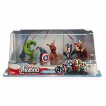 Coleção Miniaturas Disney Os Vingadores Play Set