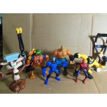 Lote Com 8 Bonecos 1 Tartaruga Ninja Brinquedo De Menino
