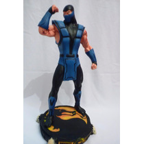 Boneco Subzero - Mortal Kombat - Estátua Em Resina