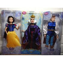 Branca De Neve Rainha Má Príncipe Bonecos Disney Originais