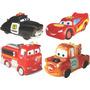 Coleção Com 4 Bonecos De Vinil Carros Disney Lider