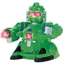 Brinquedo Robo By-bots Cronos Anda Se Mexe E Acende Luzes