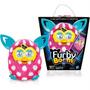 Furby Boom Sunny Rosa Com Bolinhas Brancas - Hasbro