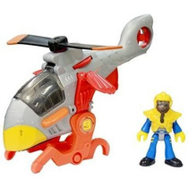 Helicóptero Imaginext Aviões Médios Sky Racer - Fisher-p