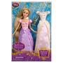 Rapunzel Princesa Disney Canta + Vestido + Pascal