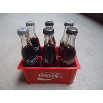 Miniatura Engradado De Garrafas De Coca-cola Anos 70