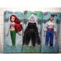 Ariel Eric Ùrsula Pequena Sereia Bonecos Disney Originais