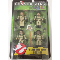 # Ghostbusters Minimates Egon Peter Ray Winston #
