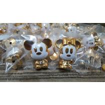 Gogos Disney Mickey E Minnie Dourado