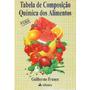 Tabela De Composição Quimica Dos Alimentos- Guilherme Franco