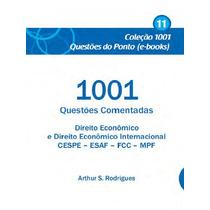 Ebook 1001 Questões Comentadas Direito Econômico Multibancas