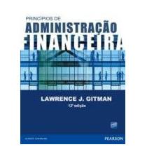 Princípios De Administração Finaceira Gitman, Lawrence J. Pe