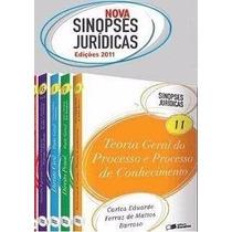 Sinopses Jurídicas - Coleção Completa 33 Livros Digitais