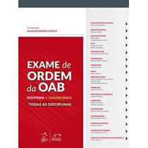 E Xame De Ordem Da Oab - Doutrina - Volume Unico Formato: Ep