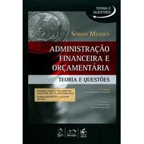 Livro Em Pdf. Administração Financeira E Orçamentária - 2015